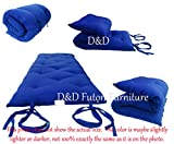 Product review for Brand New Royal Blue Traditional Japanese Floor Futon Mattresses, Foldable Cushion Mats, Yoga, Meditaion.