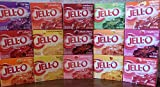 Jell-O Gelatin Sampler (Pack of 15 Different Flavors 3oz Box)