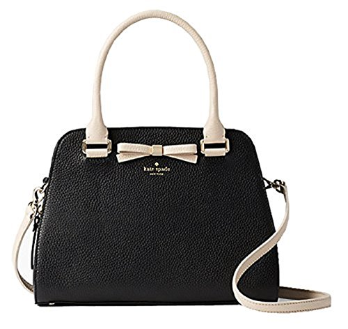 "51XvkpXgUuL 7.8"" h x 11.3"" w x 4.7"" d Drop length: 5"" handle; 22"" adjustable strap Pebbled leather with matching trim"