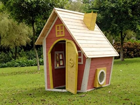 hexenhaus für garten kinderspielhaus / hexenhaus - anika -