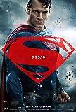 BATMAN V SUPERMAN DAWN OF JUSTICE Original Movie Poster 27x40 - DS - VERSION C - SUPERMAN - HENRY CAVILL