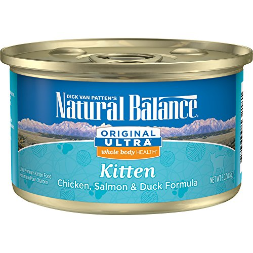 Natural Balance Kitten Formula Canned Wet Cat Food