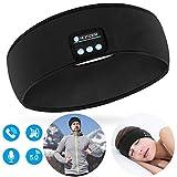 Homder Sleep Headphones Bluetooth Headband Stereo Wirless Bluetooth 5.0 Headset Unisex Sport Sweatband for Working Out, Exercising, Skating, Snowboarding, Hiking