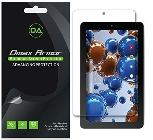 Dmax Armor [3-Pack] for RCA 10 Viking Pro/Viking II 10.1' Screen Protector Anti-Bubble High Definition Clear Shield