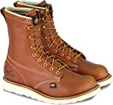 Thorogood American Heritage 8' Plain Toe Boot, Tobacco Gladiator, 9.5 D US
