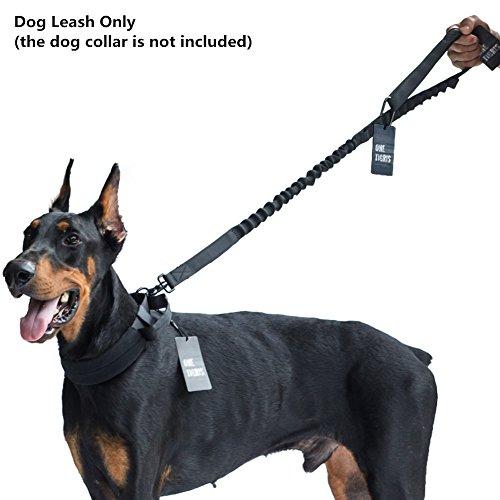 OneTigris Nylon Tactical Dog Training Bungee Leash Leads Rope 1