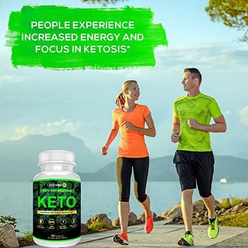 Keto Pills That Work Fast for Women & Men - Keto BHB Capsules Salts Exogenous Ketones Supplement - Keto Diet Pills Energy Boost, Raspberry Ketones, No Caffeine - Get in Ketosis for Ketogenic Diet 8