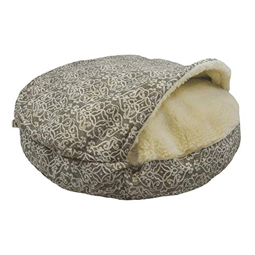 Snoozer Pet Products - Luxury Cozy Cave Dog Bed - Wag Collection | X-Large - Gondola Grey