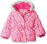 ZeroXposur Girls' Toddler Melinda Puffy Jakcet, Lipstick, 2T
