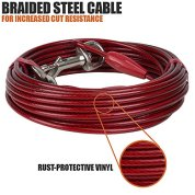 BV-Pet-Heavy-Extra-Large-Tie-Out-Cable-for-dog-up-to-125-Pound-30-Feet