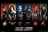 Trends International Wall Poster Justice League Logos