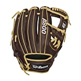 Wilson Showtime Baseball Gloves, Brown/Blonde, 11.5', Right Hand Throw