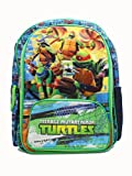 Teenage Mutant Ninja Turtle Large Backpack - Shell Power 16' Boys Book Bag TMNT