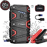 Jump Starter,Car Battery Jump Starter with 1200A Peak 15000mAh for 7.5L Gas and 6L Diesel 12V IP68 Waterproof UL Certified Safe Auto Portable Car Jump Starter Built-in LED Light