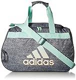 adidas Diablo Duffel Bag, Onix Jersey/Onix/Clear Mint Clear Orange, One Size