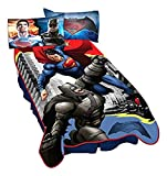 "Warner Bros. Batman Vs Superman Heroes Dual Blanket, 62"" x 90"""