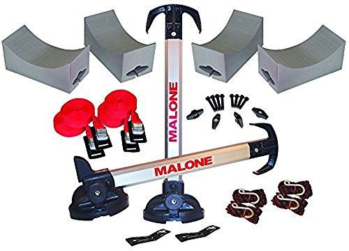 Malone Stax Pro2 Universal Car Rack Folding Kayak Carrier (2 Boat Carrier)
