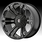XD Series by KMC Wheels XD778 Monster Matte Black Wheel (18x9/6x135, 139.7mm, 18mm offset)
