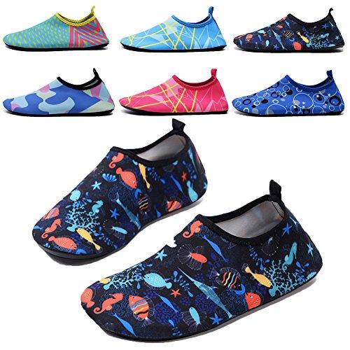 QTMS Kids Boys Girls Water Shoes