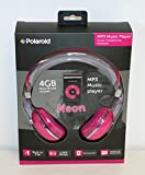 Polaroid MP3 Music Player and Headphones Pink