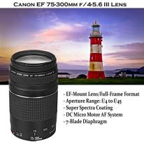 Canon-EOS-Rebel-T7-DSLR-Camera-with-18-55mm-is-II-Lens-Bundle-Canon-EF-75-300mm-III-Lens-420-800mm-Preset-Telephoto-Zoom-Lens-32GB-Memory-Filters-Spider-Tripod-Professional-Bundle