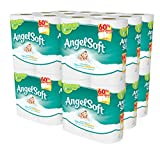 Angel Soft 48 Double Rolls Bath Tissue, 4 Count (Pack of 12)