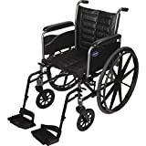 Invacare TREX28RFP/ T93HCP Tracer EX2, 18'W Seat, Full Length Arms