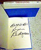 Lynn Redgrave autographed book hard cover (This is Living Actress) - MLB Autographed Miscellaneous Items