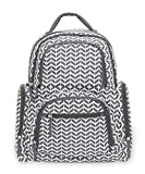Carter's On The Move Back Pack Diaper Bag with Places and Spaces, Grey