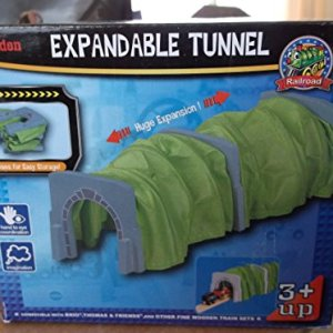 Toys For Play MA50446 Wooden Railway Expandable Tunnel 51YZVmHL75L