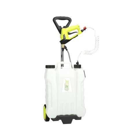 Flowzone 4-Gallon Multi-Use Continuous-Pressure Backpack & Rolling Lithium-Ion Sprayer