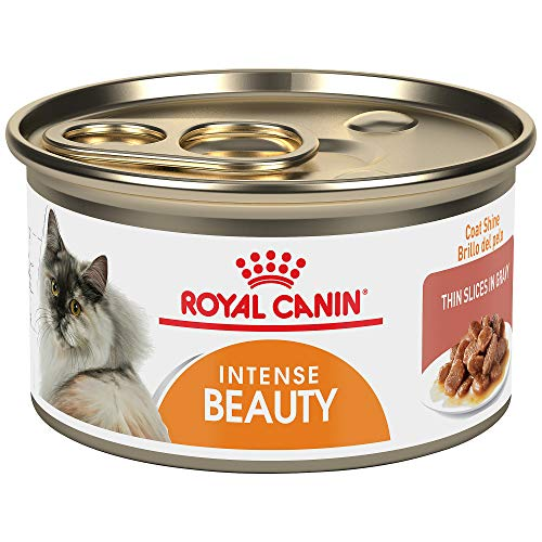 Royal Canin Feline Care Nutrition Intense Beauty Canned Cat Food, 3 oz (Pack of 24)
