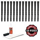 Karma Super Light Grip Oversize Grip Kit (13-Piece), Black