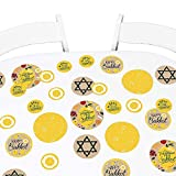 Big Dot of Happiness Sukkot - Sukkah Jewish Holiday Giant Circle Confetti - Party Decorations - Large Confetti 27 Count