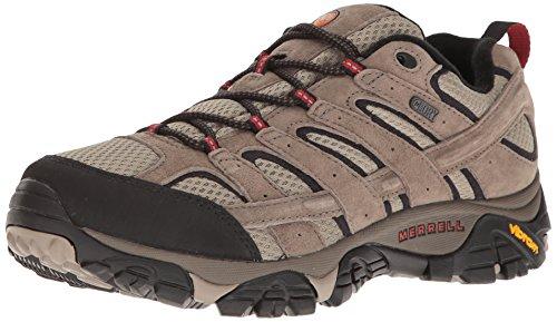Merrell Men's Moab 2 Waterproof Hiking Shoe, Bark Brown, 11.5 M US