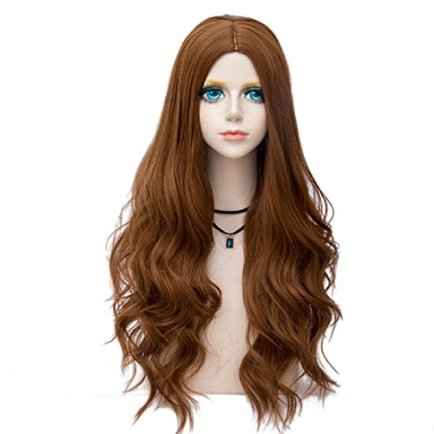 Probeauty-Bombshell-Collection-Lolita-Ombre-Wig-Dark-Root-70CM-Long-Spiral-Curly-Women-Anime-Cosplay-Wigs-Brown-F20