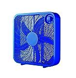 Mainstays 20' Box Fan, Blue