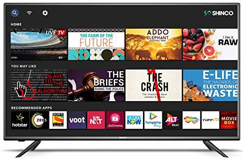 Shinco 124 cm (49 inches) Full HD Smart LED TV SO50AS-E50 (Black) (2019 Model) 1