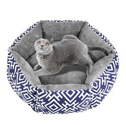 Akarden Cat Bed, Self Warming Pet Bed, Outdoor and Indoor Cat & Dog Bed, Machine Washable