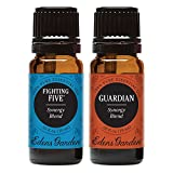 Fighting Five + Guardian Value Pack 100% Pure Therapeutic Grade Essential Oil by Edens Garden- 2 Set 10 ml