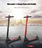 KKA Electric Scooter, 15.5 Mph Speed 15.5 Miles Distance Range Folding ELectric Kick Scooters For Adult By (Red)