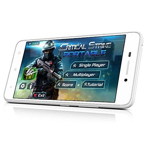 Lenovo S60 Smartphone - 5 Inch HD Display, Snapdragon 410 Processor, 13MP Camera, High Speed 4G Network (White)