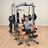 Body Solid Series 7 Smith Gym Package w/ 400 lb Weight Set GS348QP4, OSR400S