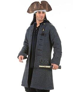 Jack Sparrow Pirate Renaissance Medieval Costume Coat