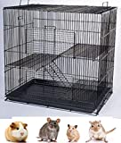 Mcage Small Animal Cage Sugar Glider Chinchilla Ferret Rats Cage24 Length x 16' Depth x 24' Height
