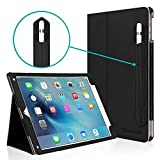 iPad Pro 9.7 Case, [Corner Protection] CaseCrown Bold Standby Pro (Black) Case w/Apple Pencil Holder for iPad Pro 9.7 Inch 2016 - Sleep/Wake, Hand Grip, Multi-Angle Viewing Stand