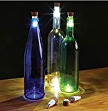 3 Pack USB Powered Rechargeable LED Cork Shaped Bottle Light, For Your Empty Wine Bottle, Great For Home, Party, Christmas Lights Decoration from Unido Party