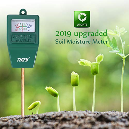 LOFTWELL Soil Moisture Sensor Meter Tester, Soil Water Monitor, Humidity Plant Tester, Hygrometer Great for Garden, Farm, Lawn, Gardening, Farming, Indoor & Outdoor (No Battery Needed)