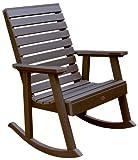 highwood Furniture Weatherly Rocking Chair Weathered Acorn