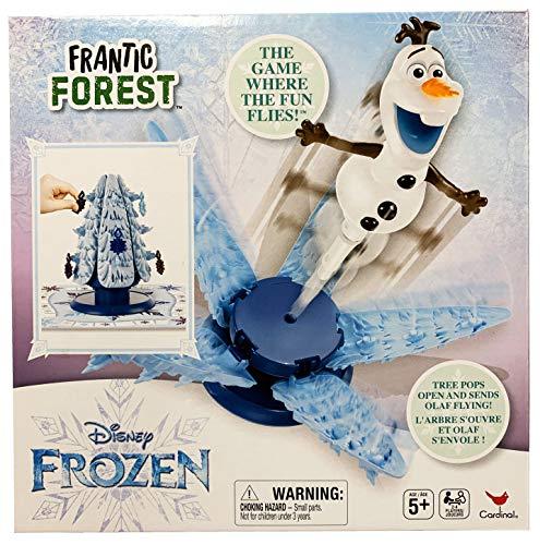 Cardinal Disney Frozen Frantic Forest Board Game